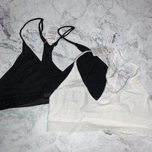 lululemon athletica Intimates & Sleepwear - Lululemon Ever Essentials Bralette Bundle L NWT
